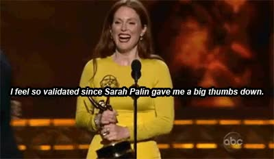 Watch and share Julianne Moore Emmy GIFs on Gfycat