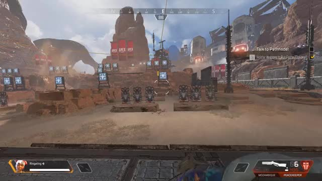 Watch breaking peacekeeper GIF by @ringating on Gfycat. Discover more apexlegends GIFs on Gfycat