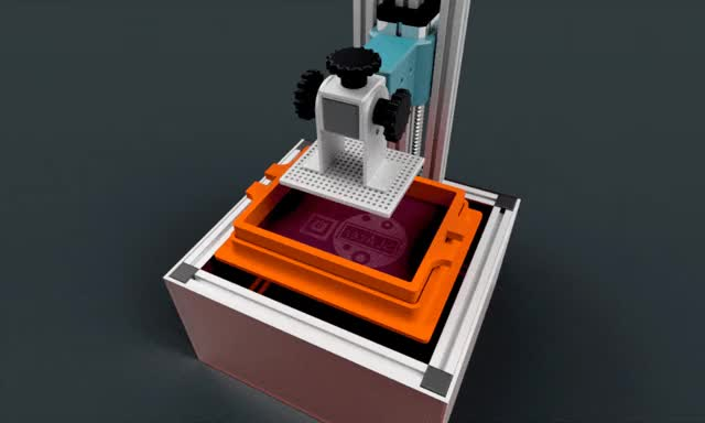 Watch and share SLA 3D PRINTER DESIGN / 2016 GIFs on Gfycat