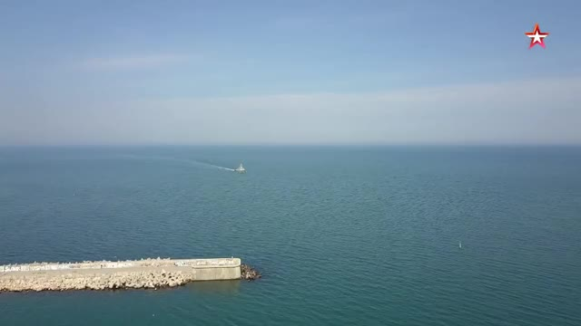 Watch МРК «Вышний Волочек» (project 21631, Buyan-M class corvette) arrives to Crimea GIF by st_Paulus (@st_paulus) on Gfycat. Discover more related GIFs on Gfycat