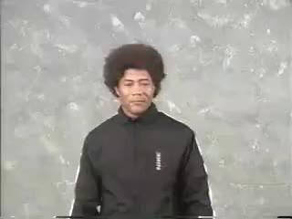 Watch Afro Ninja GIF on Gfycat. Discover more Afro, Fail, Fall, Ninja, Nunchuks GIFs on Gfycat