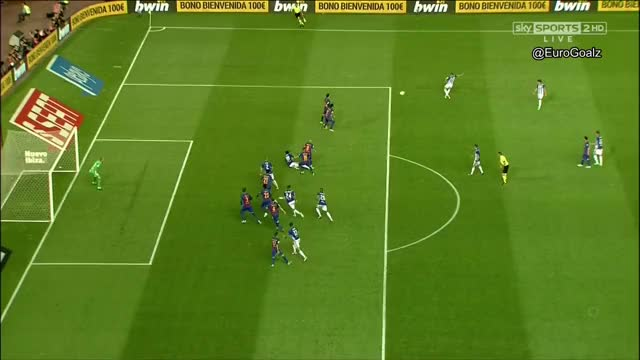 Barcelona 1-1 Alaves (Theo 33') - Great Free Kick  AA/Replays