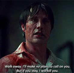 Watch and share Hannibal Lecter GIFs on Gfycat