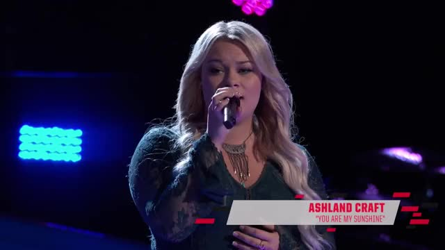 Watch the-voice-2017-blind-audition-ashland-craft-you-are-my-sunshine- GIF by Saostar.vn (@saostar) on Gfycat. Discover more related GIFs on Gfycat