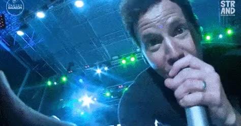Watch astronaut GIF on Gfycat. Discover more chuck comeau, david desrosiers, jeff stinco, lastgallifredits, pierre, pierre bouvier, seb lefebvre, simple plan, sp, sp gifs GIFs on Gfycat