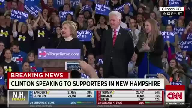 Watch and share 10 Minutes Into Hillary Rally And He Gives You This Look (reddit) GIFs on Gfycat