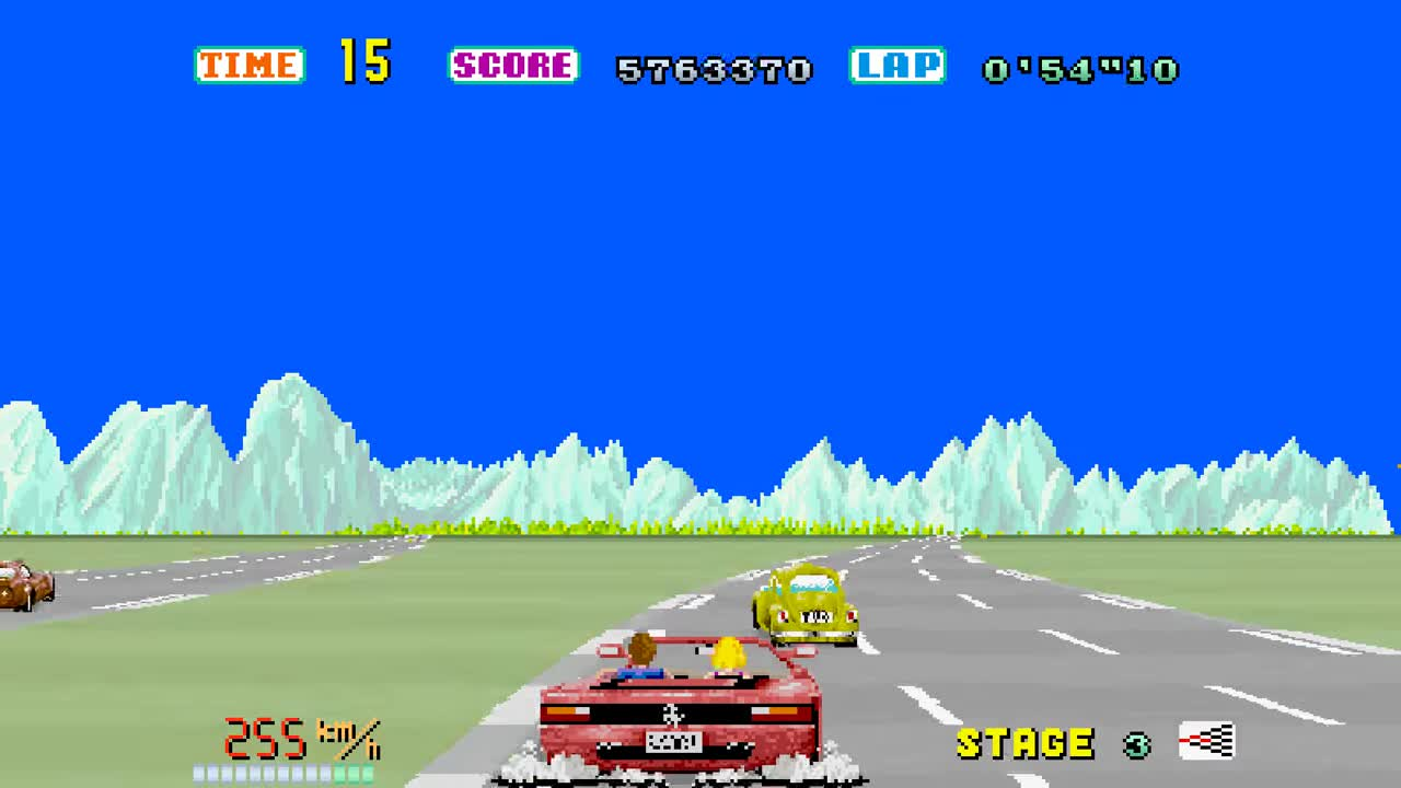 OutRun Stage 4 GIFs