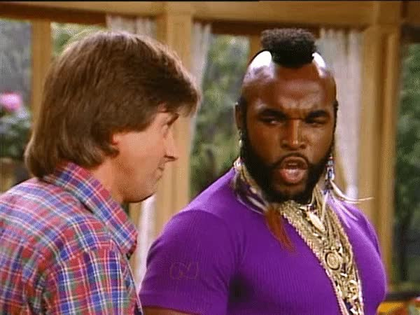 Watch and share Pitty The Fool GIFs and Silver Spoons GIFs by Bob on Gfycat