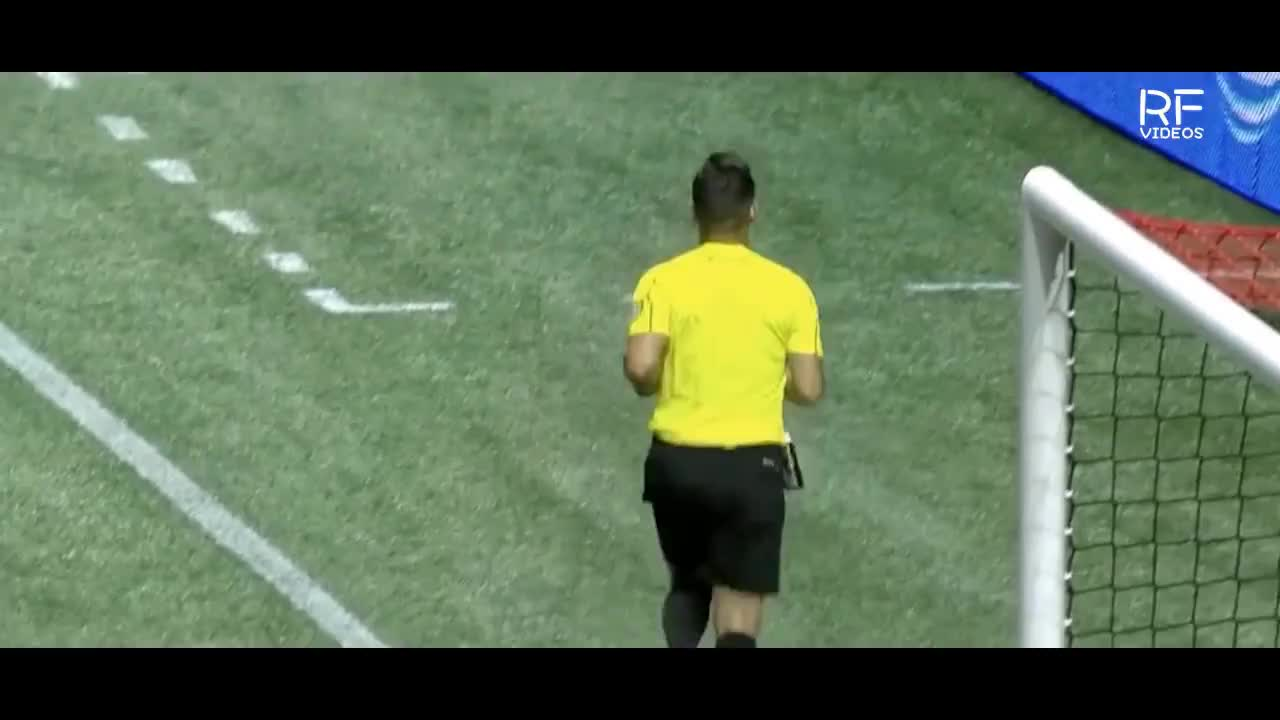 REFEREE HIT BY BOTTLE DURING MLS GAME GIFs