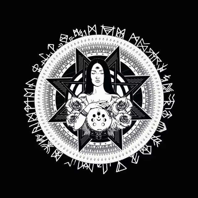 Watch and share Occult Design Animation 1114 GIFs on Gfycat
