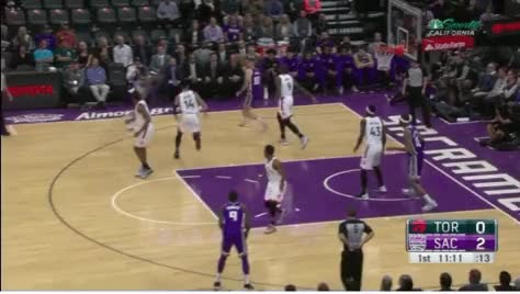 Watch kings floaters GIF by @victorraso on Gfycat. Discover more Sacramento Kings, Toronto Raptors, basketball GIFs on Gfycat