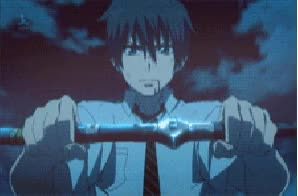 Watch Blue Exorcist GIF - GIF on Gfycat. Discover more related GIFs on Gfycat