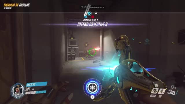 Watch and share Highlight GIFs and Overwatch GIFs by gasoline on Gfycat