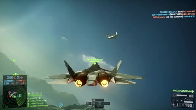 Watch and share Battlefield 4 GIFs and Jet Roadkills GIFs by CrystalChris @ YT on Gfycat