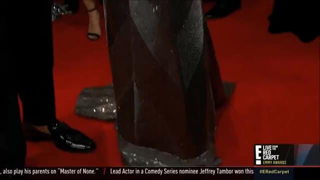 Watch Laverne Cox's dress. GIF by @tsubaki on Gfycat. Discover more EmmyAwards2017, Emmys, Emmys2017 GIFs on Gfycat