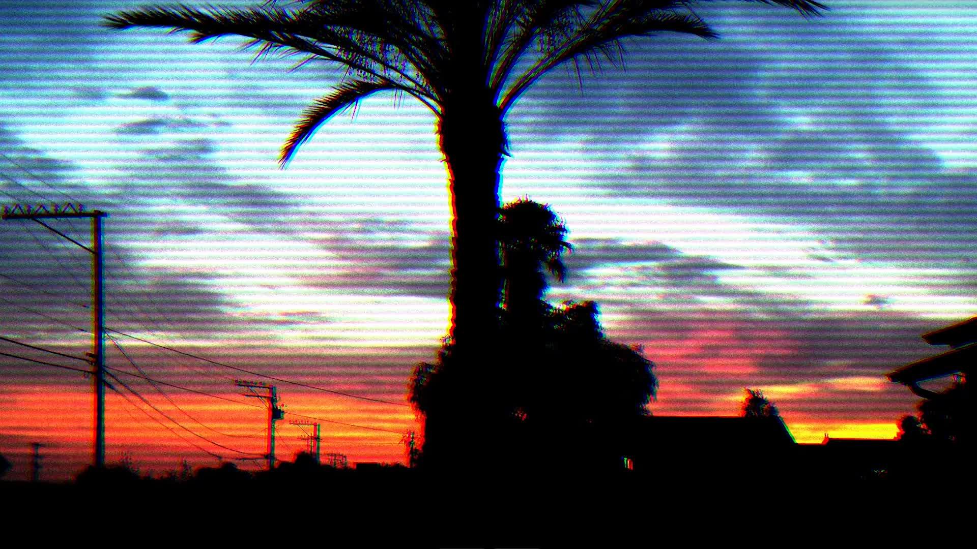 vaporwave outrun california, outrun california_1 GIFs