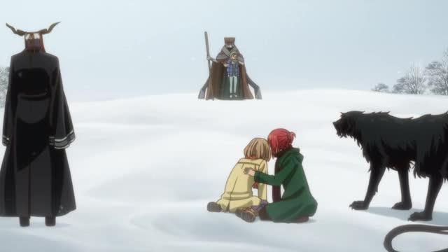 Watch Mahoutsukai no Yome - S1 E17 W4 GIF by @yumiko on Gfycat. Discover more Anime, MahoutsukainoYome, TheAncientMagus'Bride GIFs on Gfycat