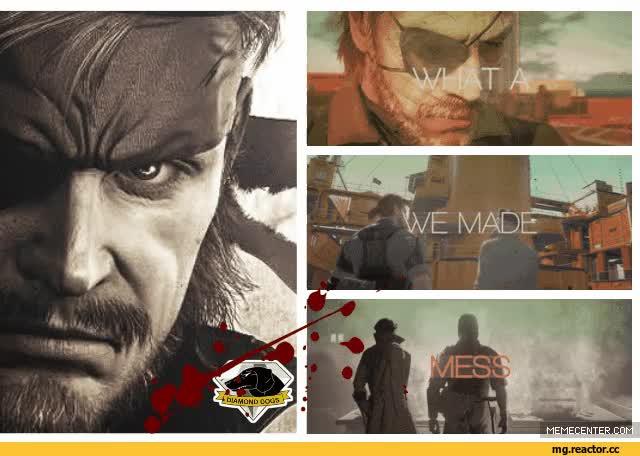 Watch and share Metal Gear Metal Gear Big Boss GIFs on Gfycat