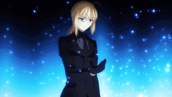 Fate, Saber, anime, animegif, animegifs, Saber Transformation GIFs