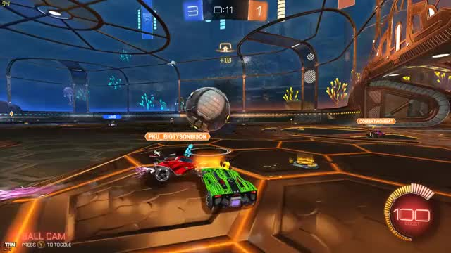 Watch the pass GIF by @teasea33 on Gfycat. Discover more Gaming, Overwolf, Rocket League, RocketLeague, TeamGoal, Win GIFs on Gfycat