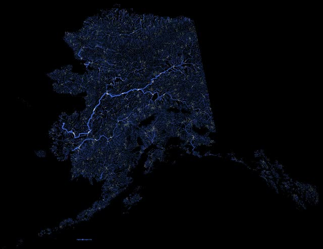 Watch Alaska River/Stream flow direction animated [GIF] [1920x1484] [OC] (reddit) GIF by @noahd on Gfycat. Discover more alaska, geography GIFs on Gfycat