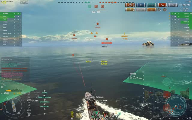Watch and share World Of Warships GIFs and Flooding GIFs by Overwolf on Gfycat