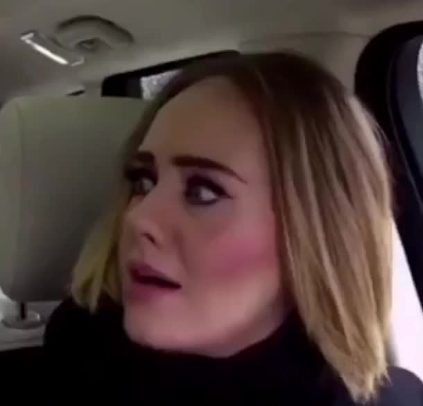 Watch this wtf GIF by GIF Queen (@ioanna) on Gfycat. Discover more Adele, GIF Brewery, God, Oh, Oh my God, carpool, corden, fuck, funny, james, karaoke, my, no, omg, reaction, surprise, surprised, the, way, what, wtf GIFs on Gfycat