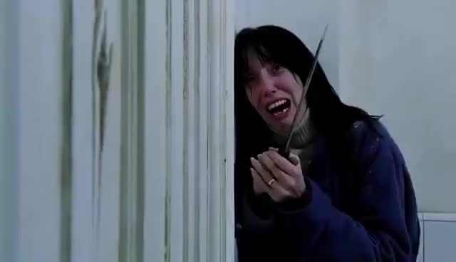 The Shining Hd Heres Johnny Scene 720p Gif Gfycat
