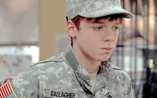 Watch and share Cameron Monaghan GIFs and Ian Gallagher GIFs on Gfycat