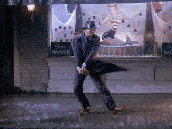 rain, raining, rainy, storm, wet, 12. The feeling when you get wet in the first downpour GIFs