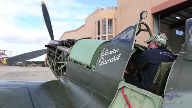 Watch Kermit Weeks - Supermarine Spitfire MK XVI - Start Up and Taxi GIF by IlyaVK (@doug_peck) on Gfycat. Discover more fantasy of flight, kermit weeks, supermarine spitfire mk xvi GIFs on Gfycat