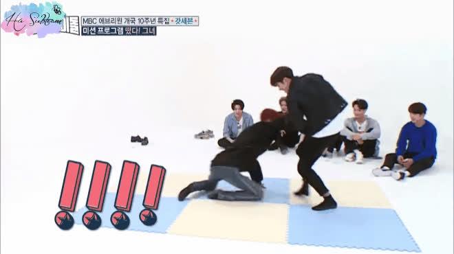 Những pha rách quần vui thôi đừng vui quá để đời của sao Hàn khi quay show