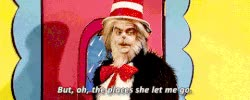 Watch and share The Cat In The Hat GIFs on Gfycat