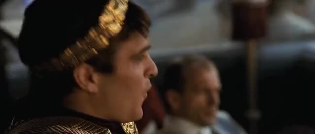 Watch and share Commodus Is Not Impressed : HighQualityGifs GIFs on Gfycat