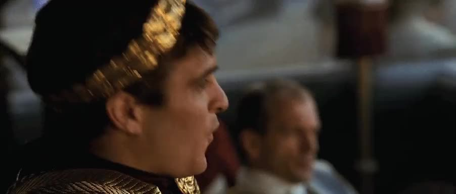 Commodus is not impressed : HighQualityGifs GIFs