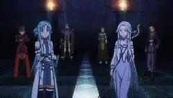 Watch a DRAMAtical Murder & Others a GIF on Gfycat. Discover more Gif, Kazuto Kirigaya, Keiko Ayano, Rika Shinozaki, Ryoutarou Tsuboi, Sao, Season 2, Sinon Asada, Suguha Kirigaya, Sword Art Online, Yui (Sao), Yuuki Asuna, Yuuki Konno, asuna, kirito GIFs on Gfycat