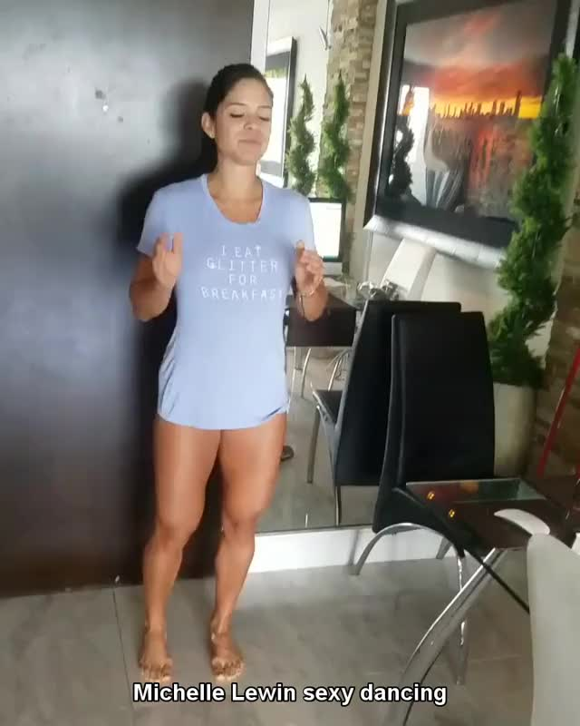 Watch Michelle Lewin dancing GIF on Gfycat. Discover more Death_By_SnuSnu, SexyButNotPornGifs, cutegirlgifs GIFs on Gfycat