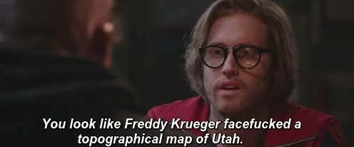 Watch True friends telling you like it is - Deadpool trailer (x). GIF on Gfycat. Discover more Deadpool, Ryan Reynolds, Wade Wilson, t.j. miller, true friends, weasel GIFs on Gfycat