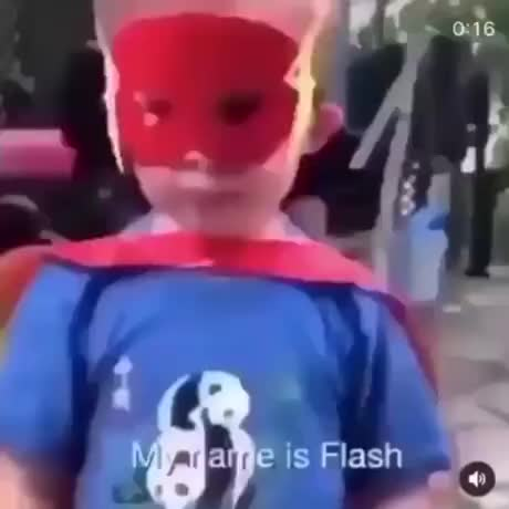 He is the flash GIFs