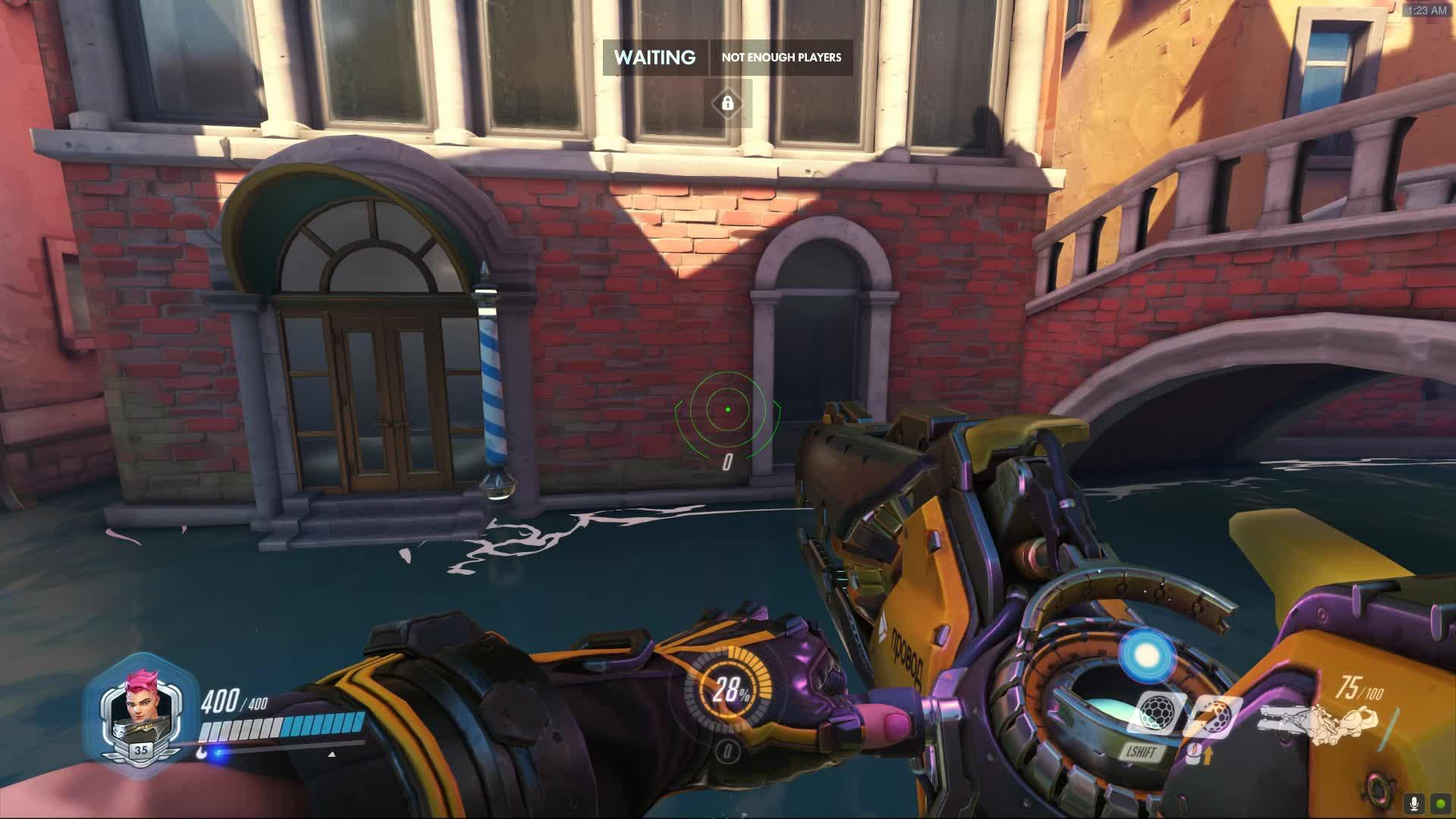 overwatch, rialto, zarya, Overwatch projectile momentum GIFs