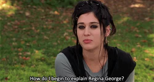 Watch and share Janice Ian Mean Girls Regina GIFs on Gfycat