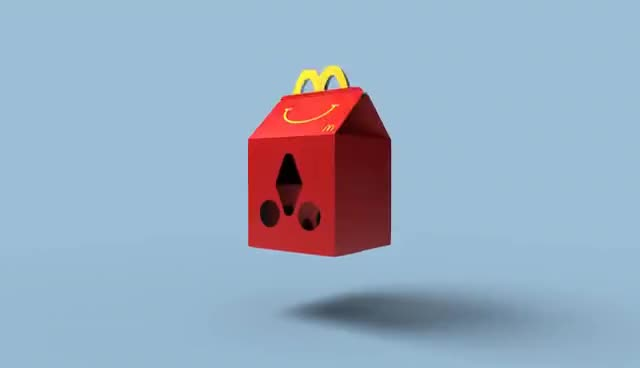 Happy Goggles - A virtual reality headset made from a Happy Meal Box. GIFs