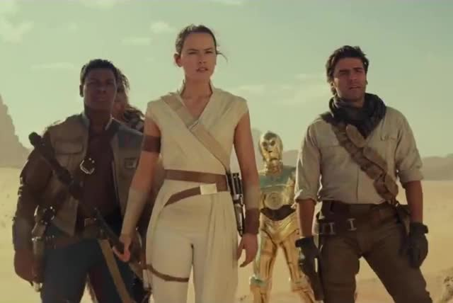 Watch and share Star Wars The Rise Of Skywalker GIFs and Daisy Ridley GIFs by Ricky Bobby on Gfycat