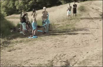Watch and share ISVdEfap Bike Water Landing GIFs on Gfycat
