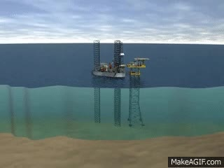 Watch and share Jackup Drilling Rig - How Does It Work? GIFs on Gfycat