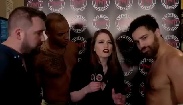 TNT Extreme Wrestling: Leanne-Marie with Manc Union (Feb '17)