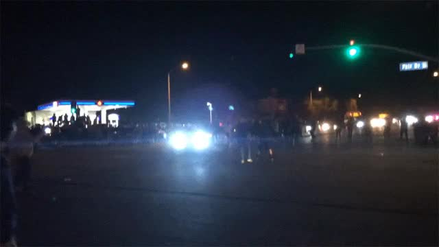 Watch and share Crazed Miata Driver Nearly Strikes Crowd GIFs on Gfycat