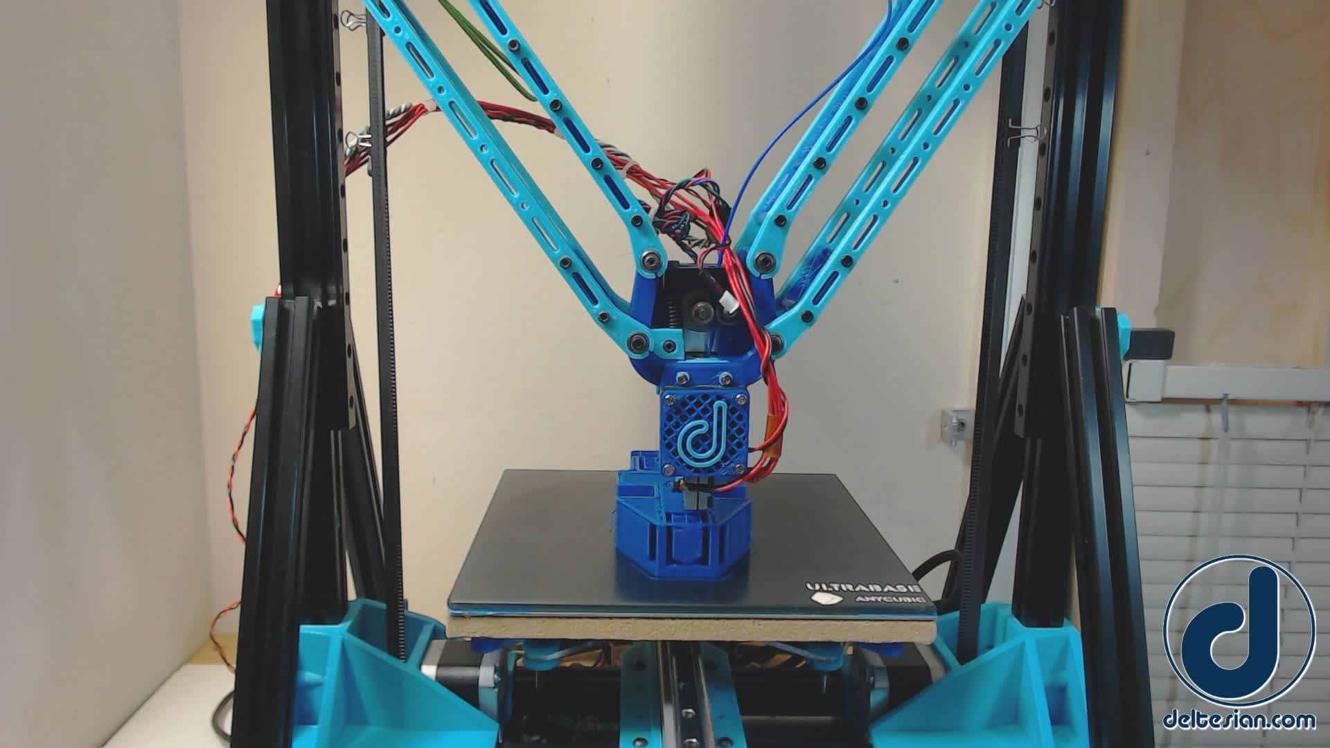 3D Printer, 3D Printing, Deltesian, Deltesian - Volcano Hotend w/ 0.5mm Layers GIFs