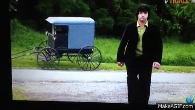 Watch and share Amish Mafia: Buggy Explosion GIFs on Gfycat