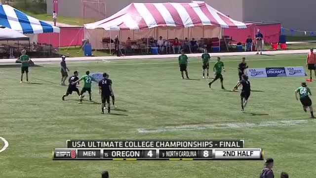 Watch and share North Carolina V Oregon (2015 College Championships - Men's Final) GIFs by push_pass on Gfycat